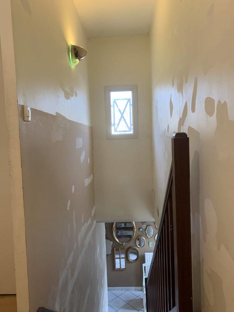 Peintreno enduits escalier
