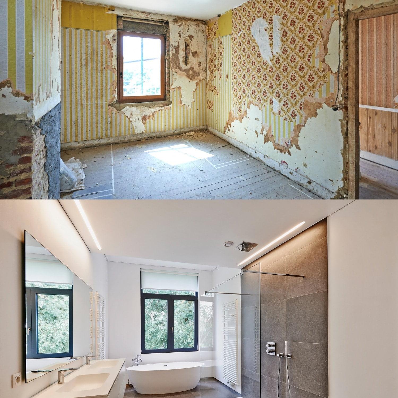 Peintreno avant et après